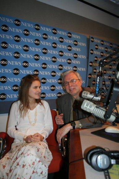 Daria is interviewed by Bill Diehl of ABC Radio in New York.
