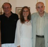 Bruno and Daria with Romanian Plenipotentiary Ambassador to Cuba Dr. Dumitru Preda in Havana, Cuba.