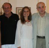 Bruno and Daria with Romanian Plenipotentiary Ambassador to Cuba Dr. Dumitru Preda in Havana, Cuba.