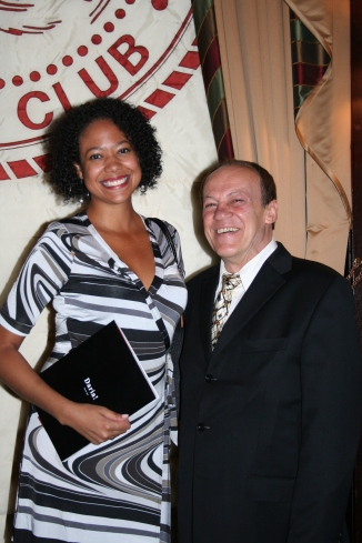 "Bruno Pischiutta and guest attend the private party and screening of his feature film ""Punctured Hope"" held at the Friers Club in New York City. At the party, Daria! magazine's 2007 issue premiered."