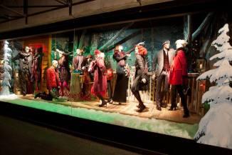 Window display at Holt Renfrew on Bloor Street in Toronto, Canada.