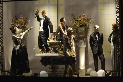 Window display at Holt Renfrew on Bloor Street in Toronto, Canada.