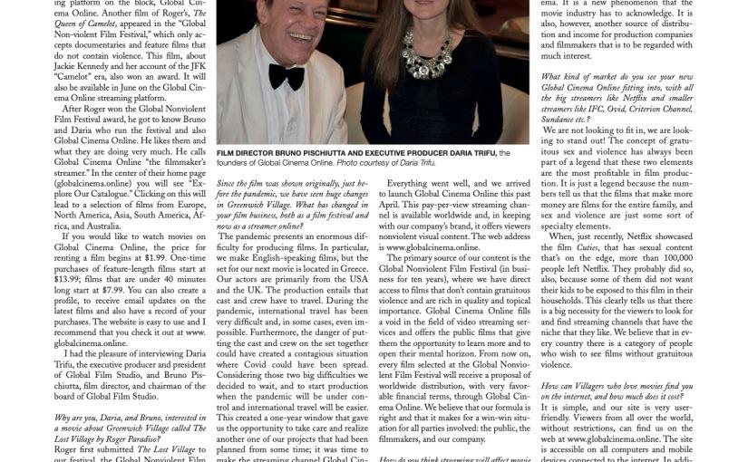 Globalcinema.online Makes News In NewYork!